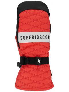 Dámské lyžařské rukavice RED250 – červené