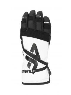 Dámské lyžařské rukavice RED253 – bílé