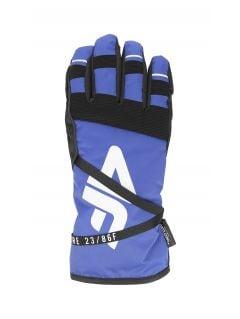 Dámské lyžařské rukavice RED253 – kobaltové