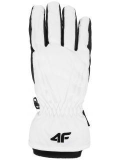 Dámské lyžařské rukavice RED350 – bílé