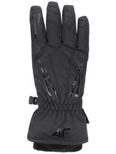 Dámské lyžařské rukavice RED350 - hluboce černé