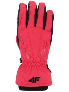 Dámské lyžařské rukavice RED350 – růžové
