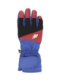 Pánské lyžařské rukavice REM350 – kobaltové