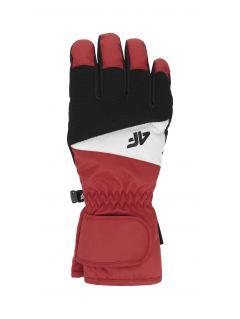 Pánské lyžařské rukavice REM350 – červené