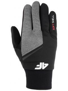 Softshellové rukavičky unisex REU107 - hluboce černé