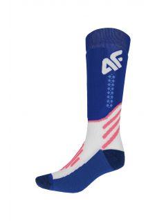 Dámské lyžařské ponožky SODN150 – kobaltové