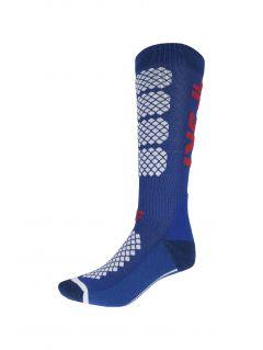 Dámské lyžařské ponožky SODN250 – kobaltové