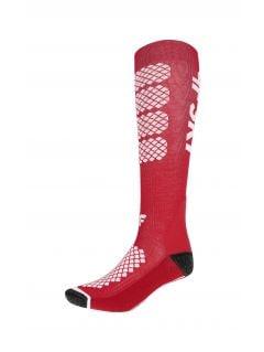 Dámské lyžařské ponožky SODN250 – červené