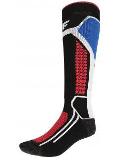 Dámské lyžařské ponožky SOMN150 - hluboce černé