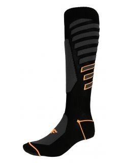 Pánské lyžařské ponožky SOMN348 - hluboce černé
