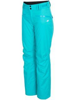 Dámské lyžařské kalhoty SPDN270 – tyrkysové