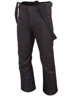 Pánské lyžařské kalhoty SPMN251 - hluboce černé