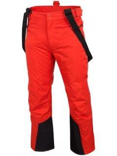 Pánské lyžařské kalhoty SPMN251 – červené