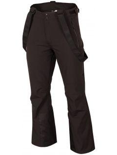 Pánské lyžařské kalhoty SPMN251R - hluboce černé