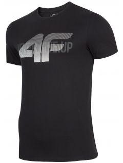 Pánské tričko TSM282 - hluboké černé