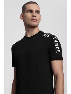 Pánské tričko TSM289 - hluboce černé