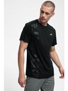 Pánské tréninkové tričko TSMF257 - hluboce černé