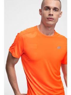 Pánské běžecké tričko TSMF257 - neonově oranžové