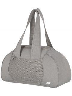 Sportovní taška TPU001 - chladný světle šedý melír