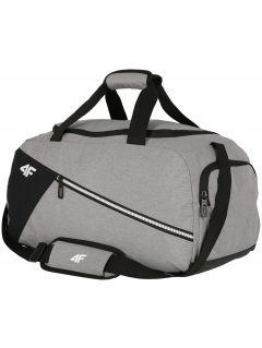 Sportovní taška TPU006 - chladný světle šedý melír