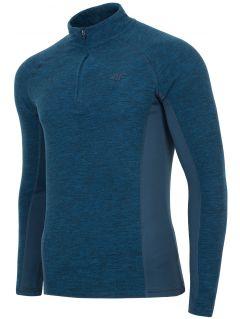 Pánské fleecové prádlo BIMP002 - tmavě modrý melír
