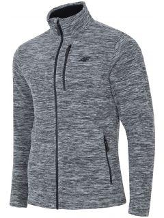Pánský fleece PLM001 - tmavě šedý melír