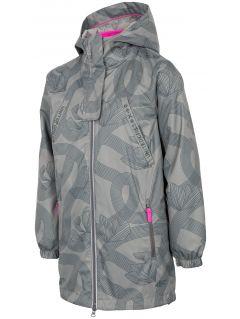 Dívčí bunda 3v1 (122-164) JKUD201 – khaki