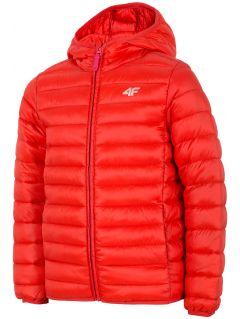Dívčí péřová bunda (122-164)  JKUDP200 – červená