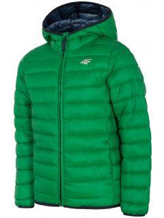 Chlapecká péřová bunda (122-164) JKUMP200 – zelená