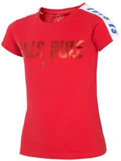 Dívčí tričko (122-164) JTSD203A – červené