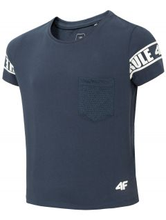 Dívčí tričko JTSD204 - tmavě modré