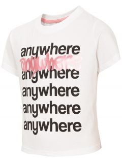 Dívčí tričko (122-164) JTSD210 – bílé