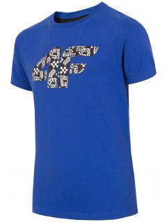 Chlapecké tričko (122-164) JTSM203A – kobaltové