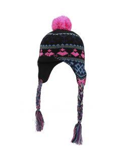 Čepice pro mladší děti (holky) JCAD103 - hluboce černá