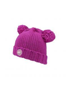 Čepice pro mladší děti (holky) JCAD105 – fuchsiová