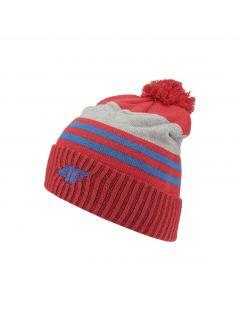 Čepice pro starší děti (kluky) JCAM227 - červená