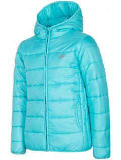 Péřová bunda pro starší děti (holky) JKUDP201A – mátová