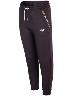 Sportovní kalhoty pro starší děti JSPMTR404 – černé