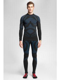 Pánské bezešvé prádlo (horní + dolní část) 4Hills BIMB100 – tmavě modré