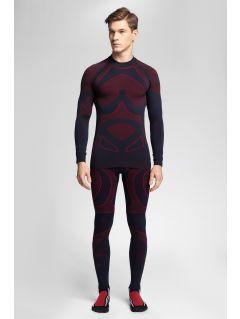 Pánské bezešvé prádlo (horní + dolní část) 4Hills BIMB100 – červené