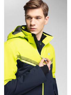 Pánská lyžařská bunda 4Hills KUMN100 - šťavnatá zelená