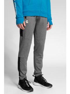 Pánské funkční kalhoty 4Hills SPMTR200 - středně šedý melír
