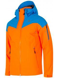 Pánská lyžařská bunda KUMN152A - neonově oranžová