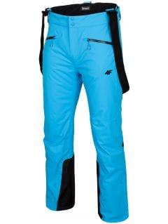 Pánské lyžařské kalhoty SPMN151 – tyrkysové