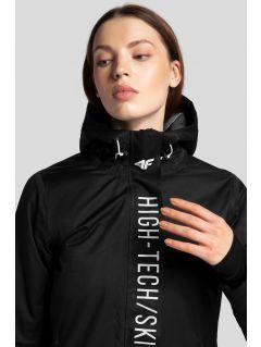 Dámská lyžařská bunda KUDN162 - hluboce černá