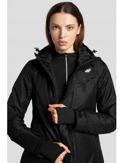 Dámská lyžařská bunda KUDN253 - hluboce černá