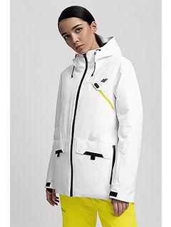 Dámská lyžařská bunda KUDN255– bílá