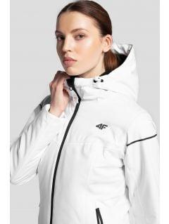 Dámská lyžařská bunda KUDN300– bílá