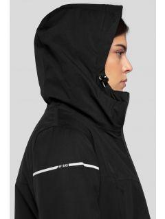 Dámská lyžařská bunda KUDN300 - hluboce černá