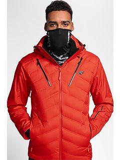 Pánská lyžařská bunda KUMN150 – červená
